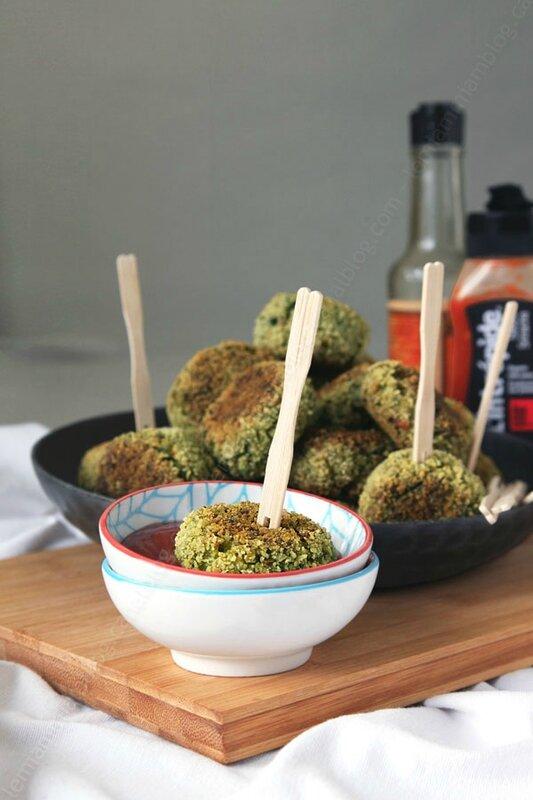croquettes de brocoli 00001 LE MIAM MIAM BLOG