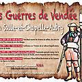 Les guerres de vendée à la salle-et-chapelle-aubry
