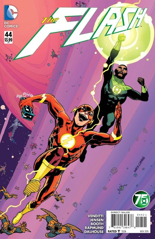 flash 44 green lantern variant