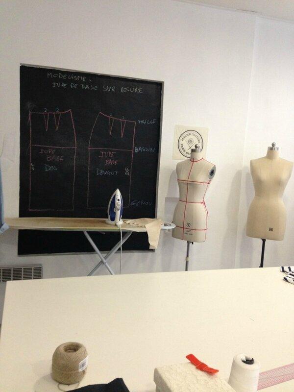 Atelier de couture Paris Beaubourg
