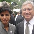Richard Dell'Agnola avec Rachida Dati