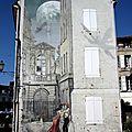 fresques - angoulême charente fresque peinture murale trompe l'oeil humour photo