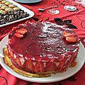 Mon fraisier d'anniversaire