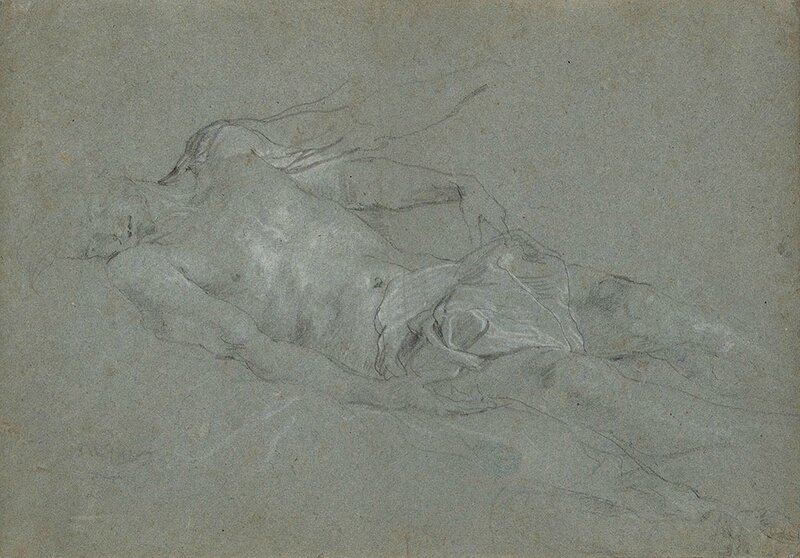 Study for the Dead Christ