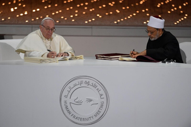 APOSTOLIC JOURNEY OF HIS HOLINESS POPE FRANCIS TO THE UNITED ARAB EMIRATES-ENGLISH VERSION-