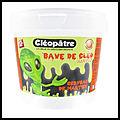 Kit slime bave de cléo - cerveau de martien phosphorescent - cléopâtre