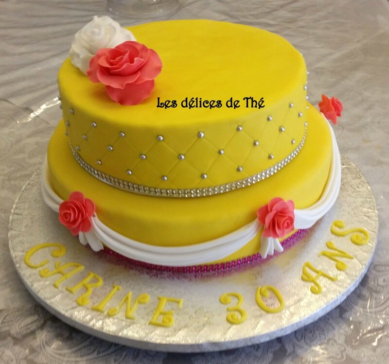 Wedding cake mon 1er en Nov 2015 (23)
