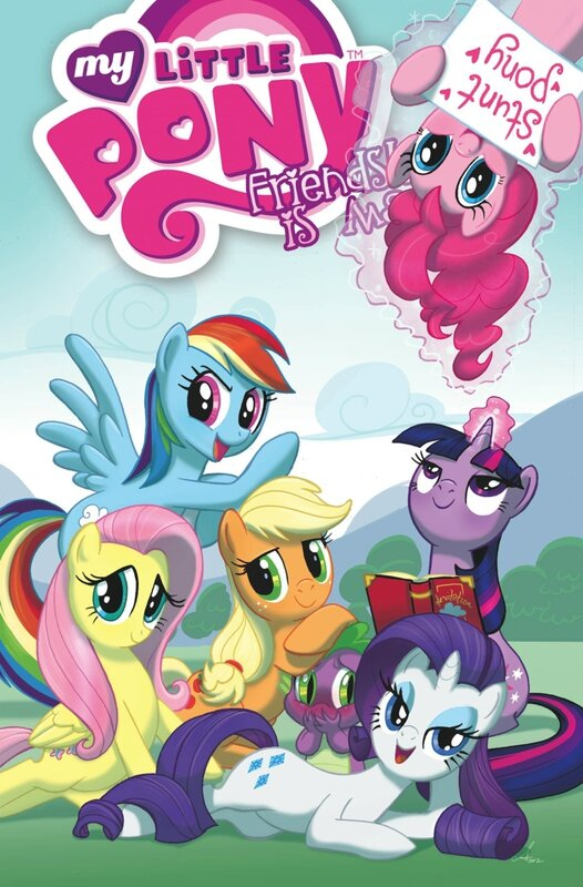 my little pony frienship is magic vol 2 TP