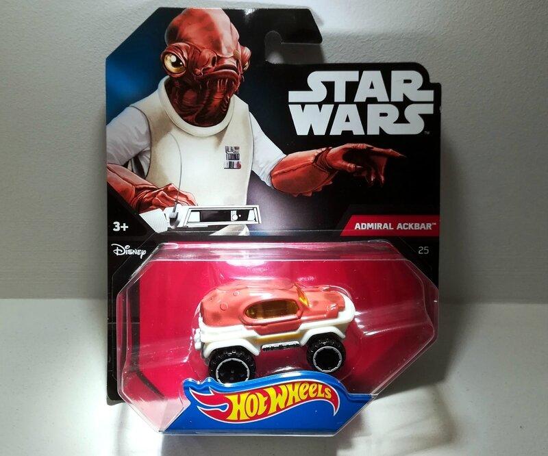 Admiral Ackbar (Star Wars) Hotwheels