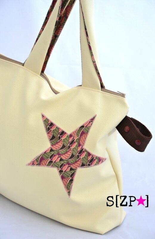 sac à poussette étoile Liberty