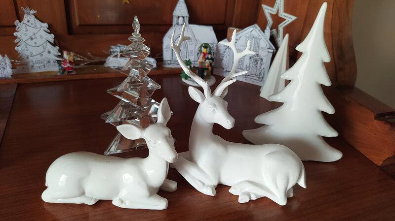 Le cerf de Noël