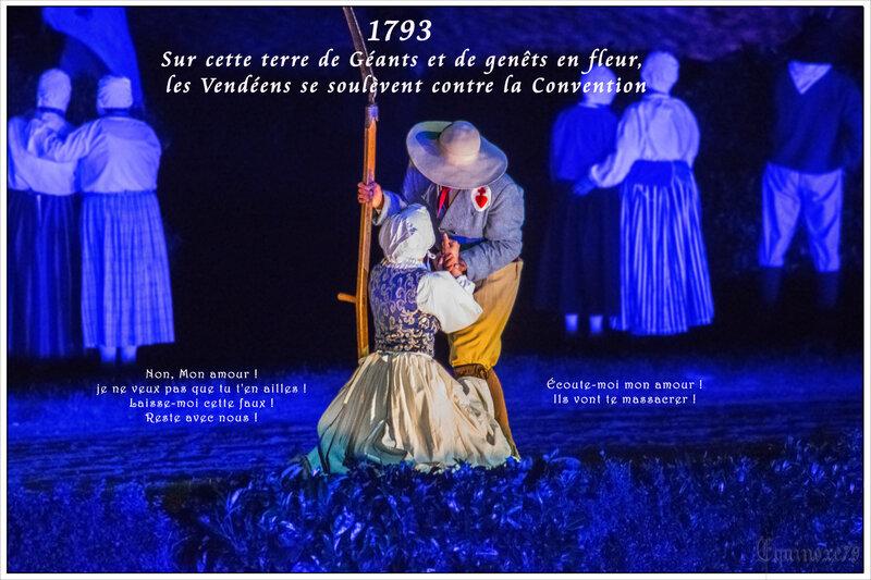 1793 Sur cette terre de Géants et de genêts en fleur, les Vendéens se soulèvent contre la Convention