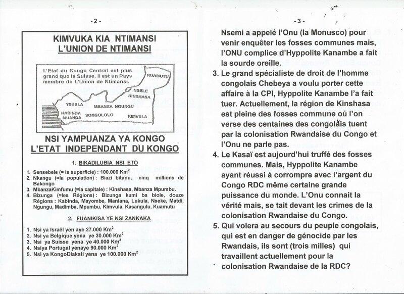 L'ONU ET LES FOSSES COMMUNES DU CONGO RDC b