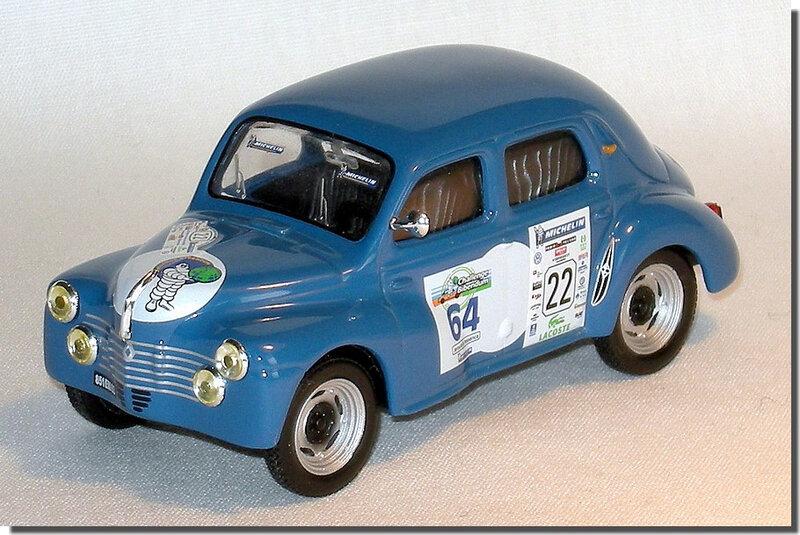 22 Renault 4cv Le Mans 1951 A 1