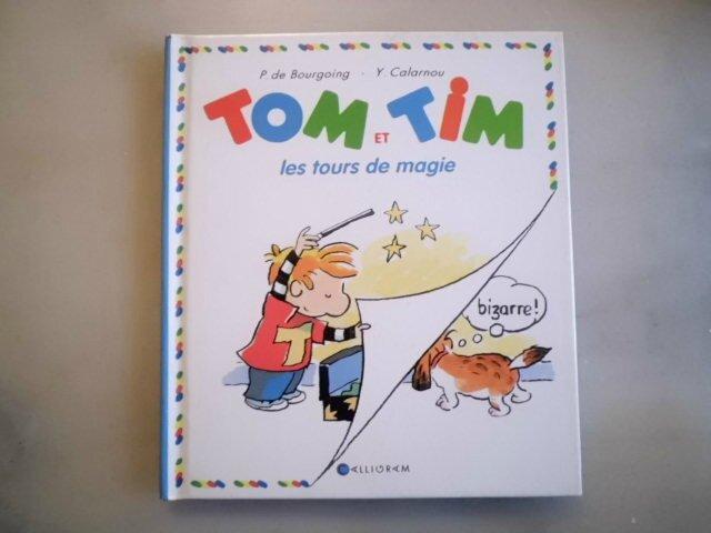 Tom et Tim les tours de magie
