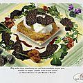 Œuf mollet, foie gras et truffe noire
