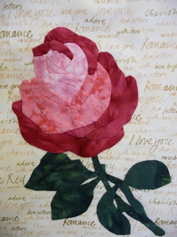rose applique 1