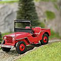 Jeep. dinky toys. #25y. made in england