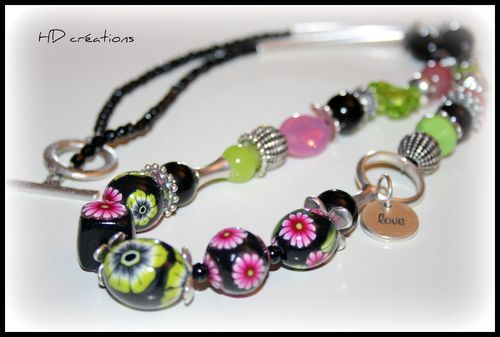 Collier Crazy Flower