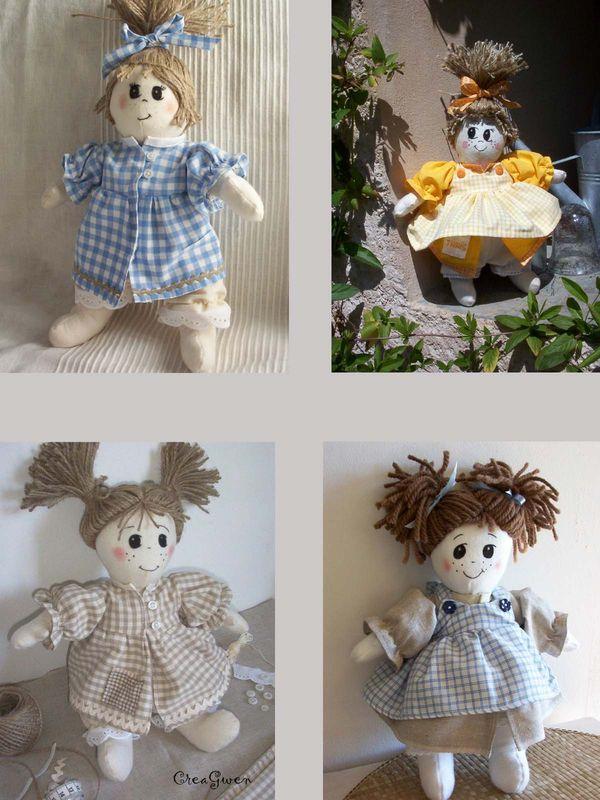 poupées ficelles
