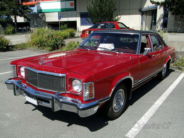 mercury monarch 4door sedan 1975 1977 a