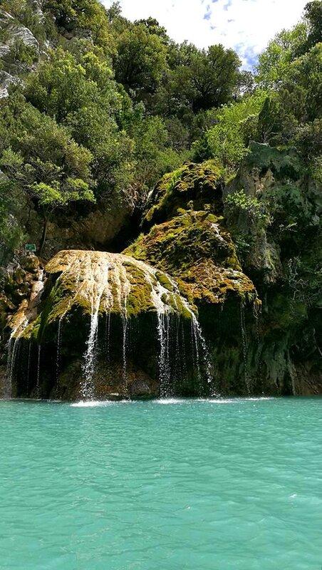 Gorges du Verdon, cascade