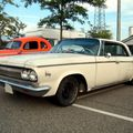 Dodge 880 custom hardtop sedan de 1963 (Rencard Burger King Offenbourg) 01