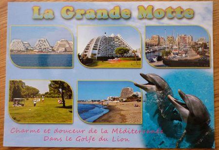 CARTE POSTALE - LA GRANDE MOTTE