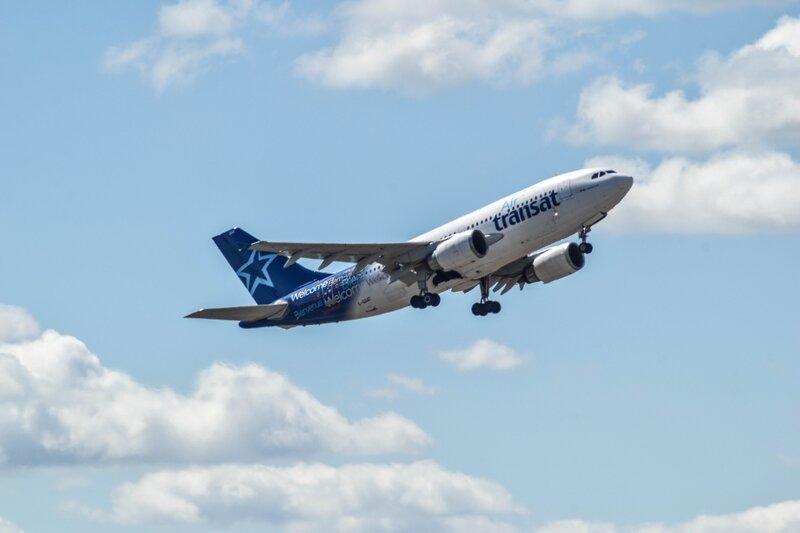 Airbus A310 d'Air Transat