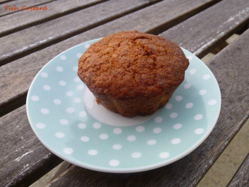 Muffins aux flocons d'avoine et pomme (29)