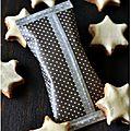 ☆ calendrier de l'avent : 1 cadeau gourmand par jour ☆ jour 20 : zimtstern - étoiles à la cannelle et diy étui à biscuit