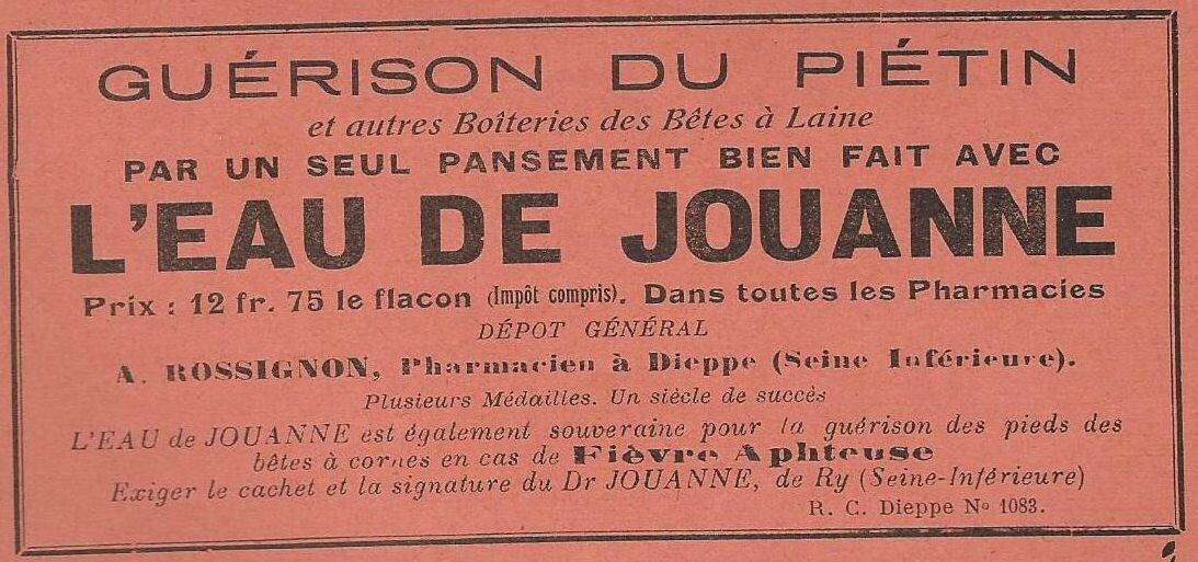 Lou Garounés 1935 Publicités (5)