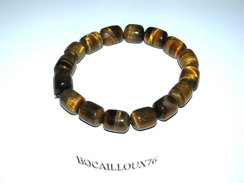 Bracelet Perles OEIL de Tigre 9 (5)