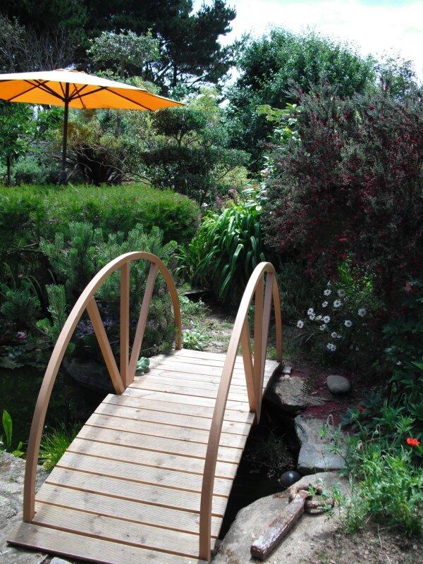 Bassin, jardin