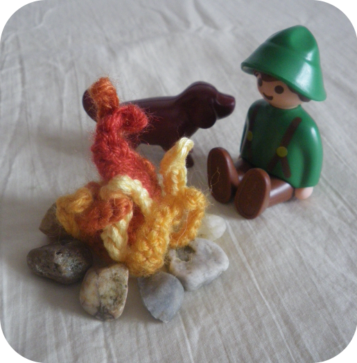 Serial Crochet 17 - Au coin du feu