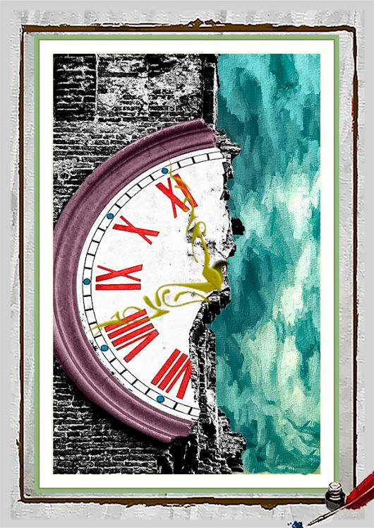 reloj estropeado