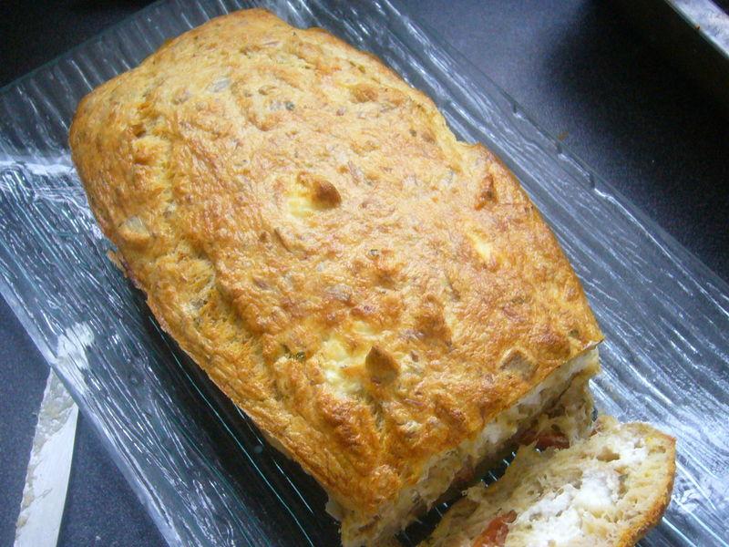 Cake Au Thon Tomates Et Chevre Chez Laurette