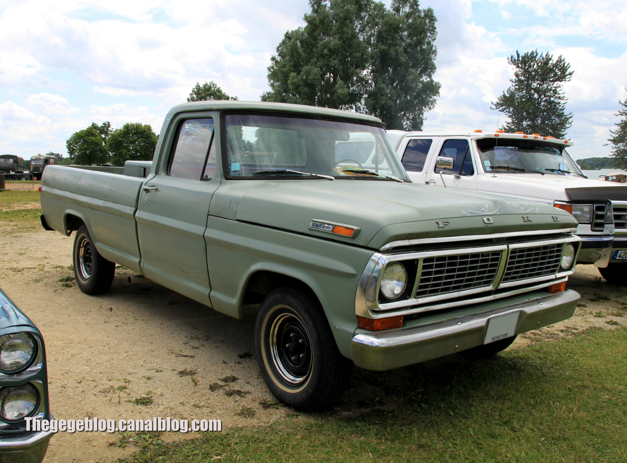 Ford F100 custom pick-up de 1970 (Retro Meus Auto Madine 2012) 01