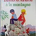 Livre album ... daniel et valerie a la montagne (1977)