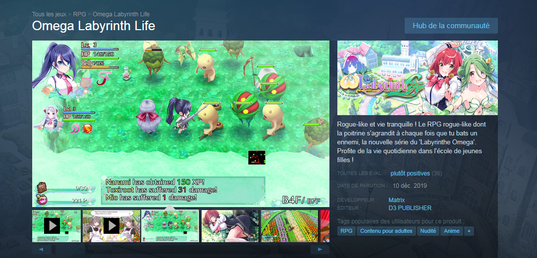 omega labyrinth life steam