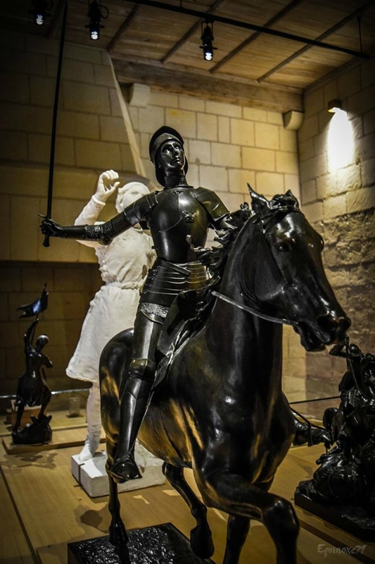 la Chevauchée de Jeanne d'Arc vers Chinon (5)