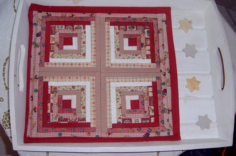 Mon tout premier ouvrage en patchwork. 2000