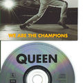 Queen we are the champions cd's promo France