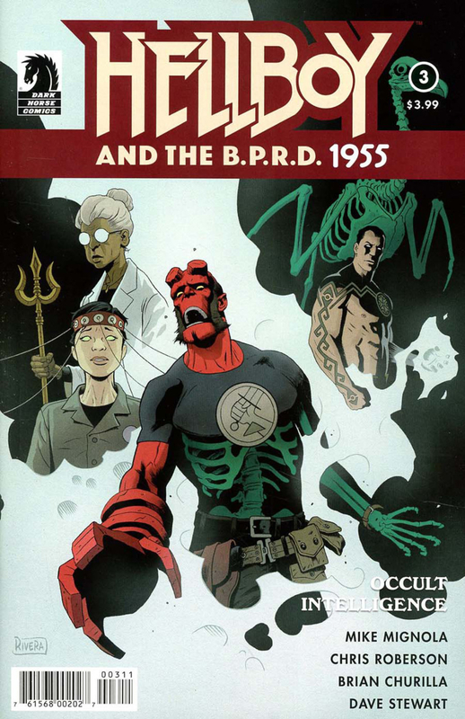 dark horse hellboy and the BPRD 1955 occult intelligence 03