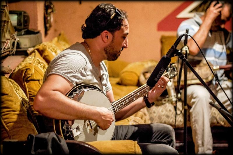 Moha Eladli au banjo