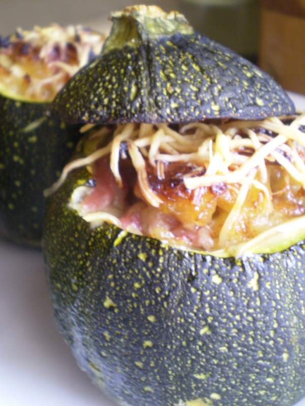 Courgettes rondes farcie1