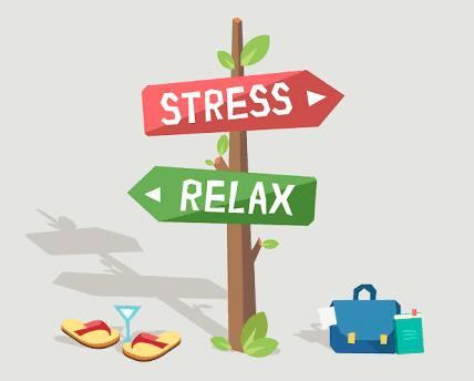 panneau stress relax