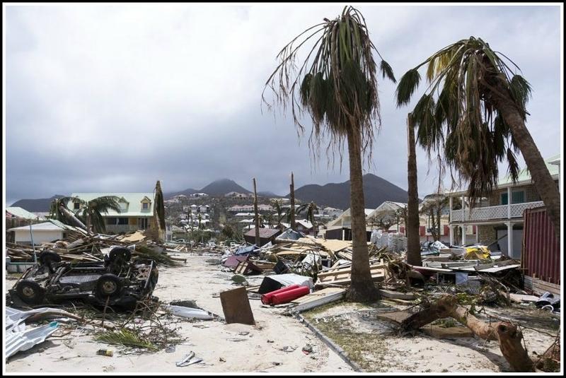 Ouragan Irma St Martin