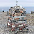ce monument était orné d'une flèche indiquant le cap nord (le premier)