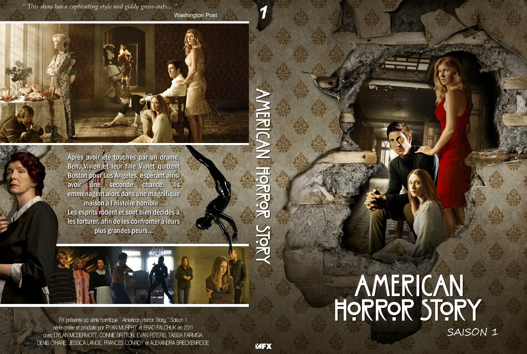 Jaquette American Horror Story : Murder House - Saison 1